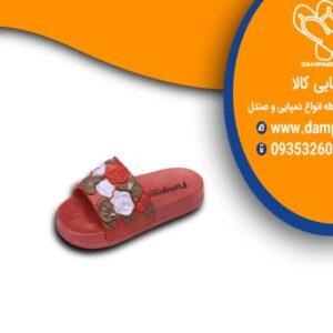 دمپایی دخترانه طرح رز کد 614