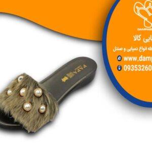 دمپایی روفرشی طرح تیلدا کد 508