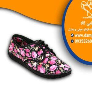 کفش گلدار دخترانه کد 710