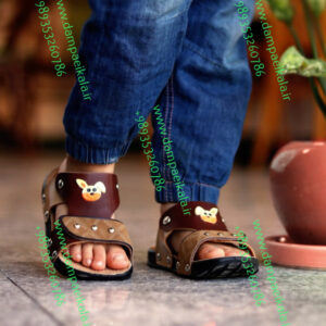 دمپایی کودک طرح رابیت کد 1451