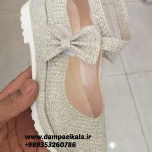 کفش دخترانه طرح پاپیون کد 1787