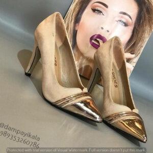 کفش مجلسی زنانه طرح پنجه دوتیکه کد 1879