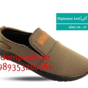 کفش مردانه طرح دیپلمات کتی کد 1860