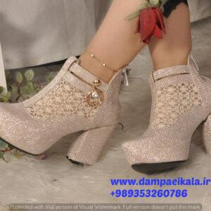 کفش مجلسی زنانه طرح گلبرگ کد 1817